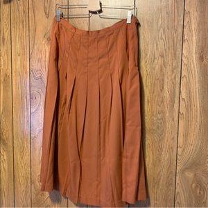 BRIGGS   Vintage Pleated Skirt